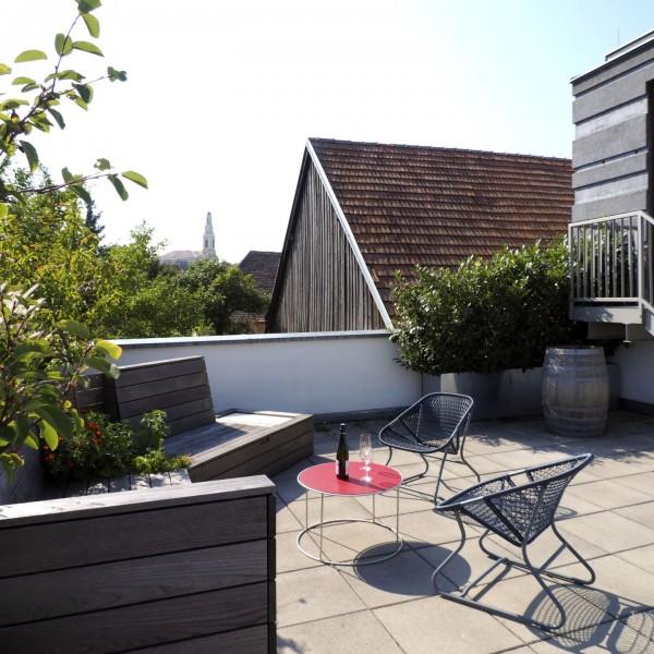 Terrasse / ©Heinz Schmölzer