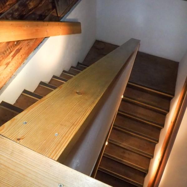 Stiegenabgang / ©Heinz Schmölzer