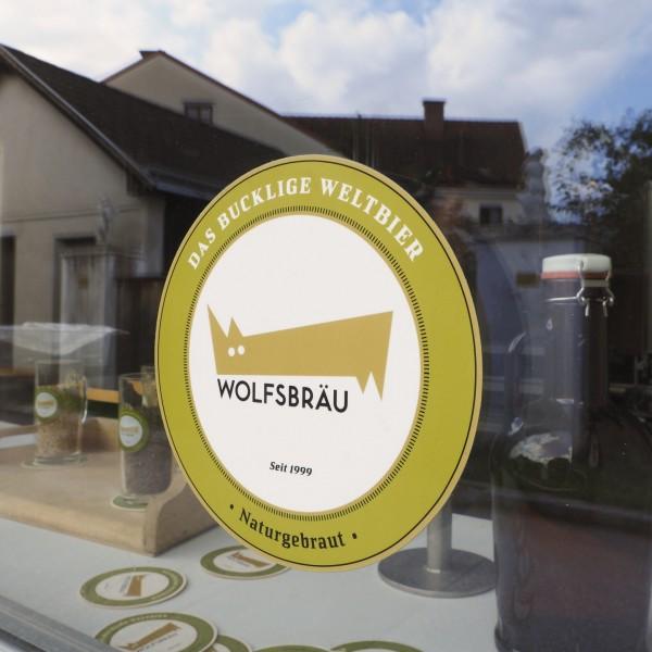 ©Heinz Schmölzer / Logo Wolfsbräu