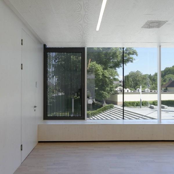 ©Walter Ebenhofer / Schulgebäude Innenraumansicht