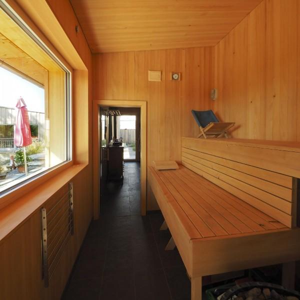 ©Heinz Schmölzer / Innenansicht Sauna