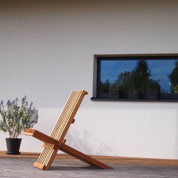 ©Scherz / Außenansicht Detail Terrasse