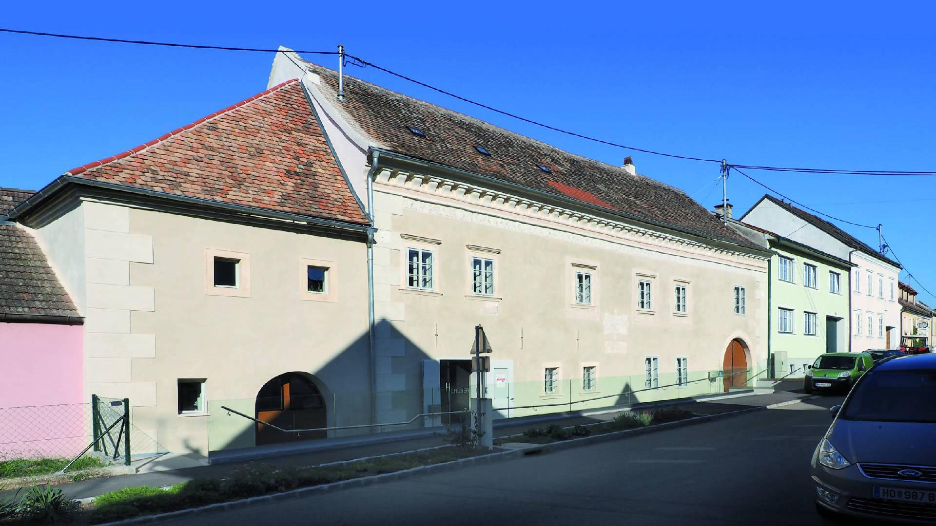 ©Heinz Schmölzer / Fassadenansicht