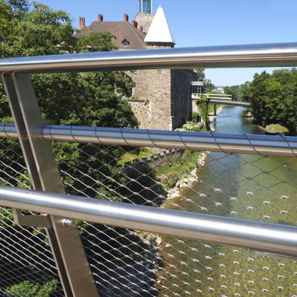 ©Heiz Schmölzer / Brückengeländer Schlosssteg