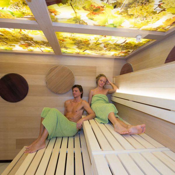 ©Bernd Kleinschuster / Innenansicht Sauna