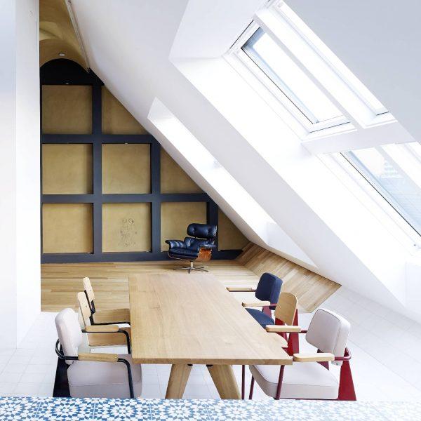 ©Jörg Seiler / Dachflächen mit klimaregulierendem Lehmputz