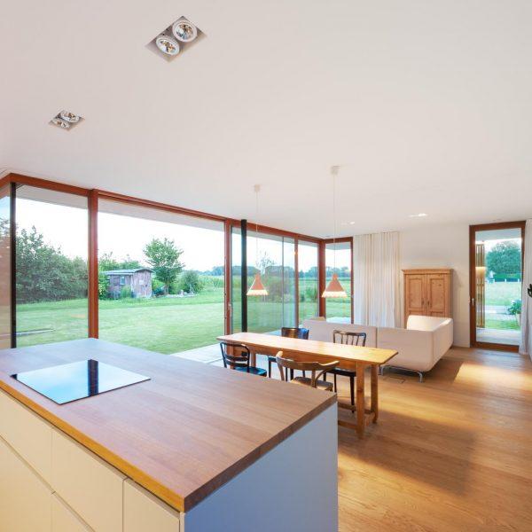 ©Andreas Buchberger / Küche mit Wohnbereich
