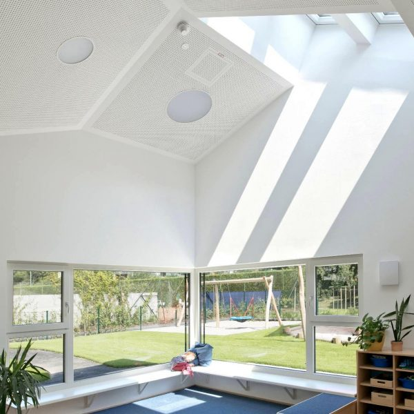 ©Christoph Treberspurg / Lichteintrag über das Dach