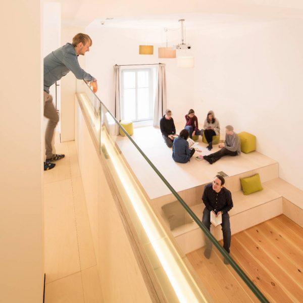 ©Markus Fattinger Architekturfotografie / Innenansicht mit Galerie