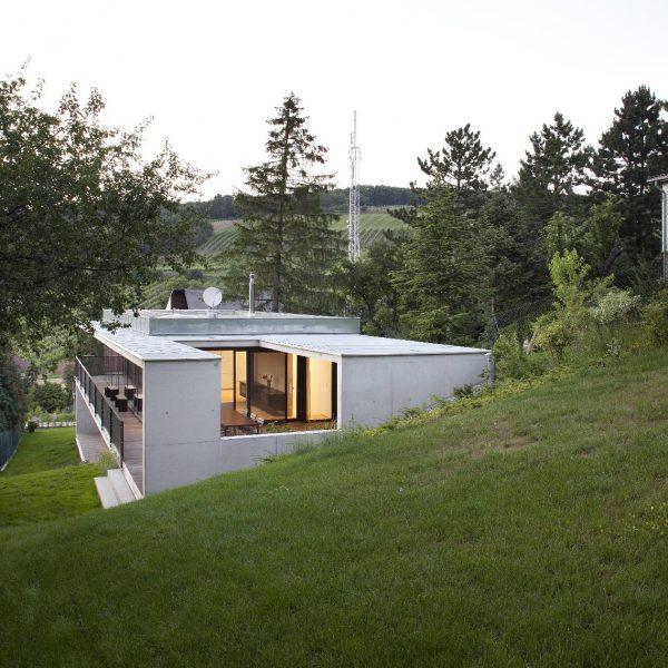©Dietrich | Untertrifaller Architekten ZT GmbH / gartenseitige Außenansicht