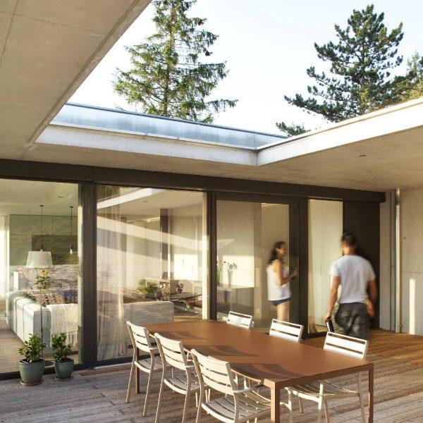 ©Dietrich | Untertrifaller Architekten ZT GmbH / Terrassenbereich