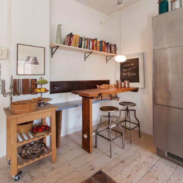 ©Romana Fürnkranz / Innenansicht Barecke in der Küche