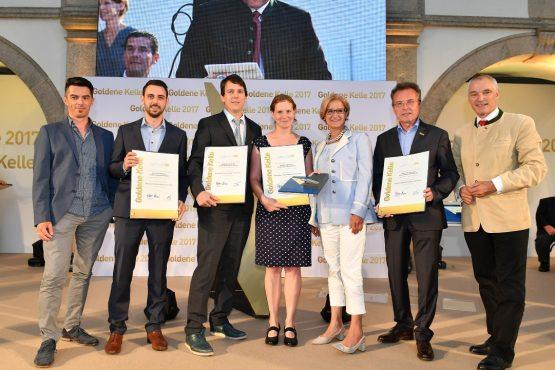 Gruppenfoto Gewinner Historisches WH in Weißenkirchen