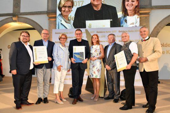 Gruppenfoto Gewinner ehem. Pfarrhof in Stollhofen
