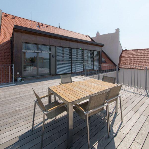 ©Romana Fürnkranz / Dachterrasse