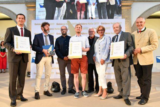 Gruppenfoto Gewinner OBENauf in Unternalb