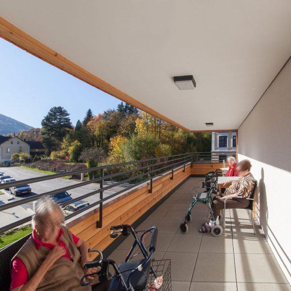 ©Romana Fürnkranz / überdachte Terrasse