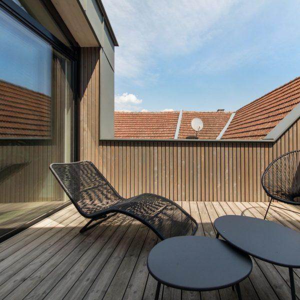©Romana Fürnkranz / Außenansicht Dachterrasse