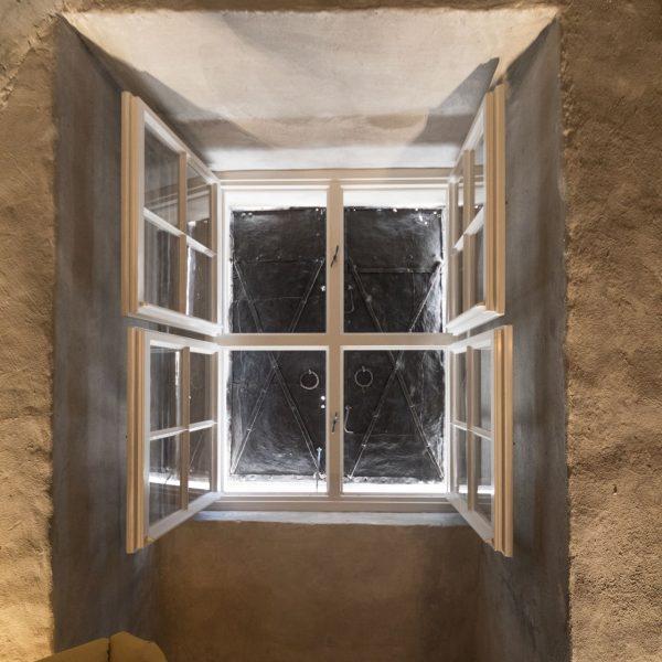 ©Romana Fürnkranz / Innenansicht Fensterdetail