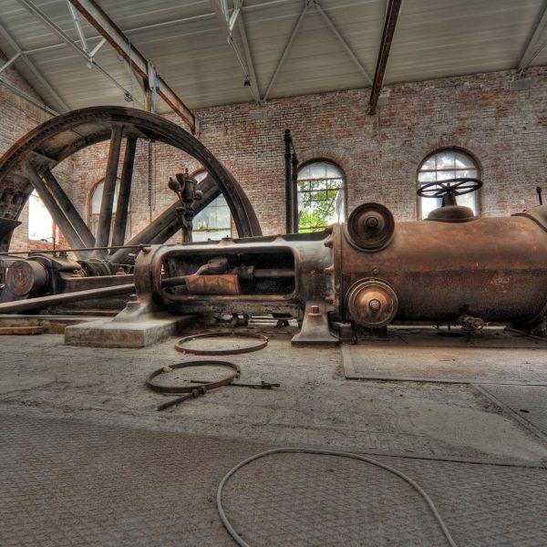 ©Florian Pfaffstaller / Innenansicht ehemalige Maschinenhalle
