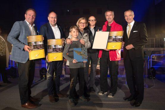 Foto der Gewinner des Projektes Bauerhaus in Ladendorf