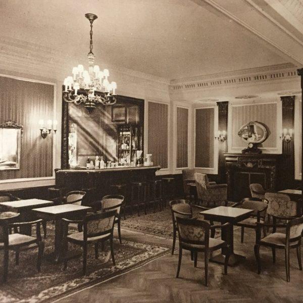 Fotos Semmering einst - Bar Hotelhalle 1934