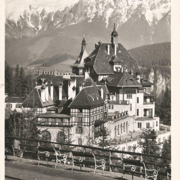 Fotos Semmering einst - Rax von der Hochstraße 1958