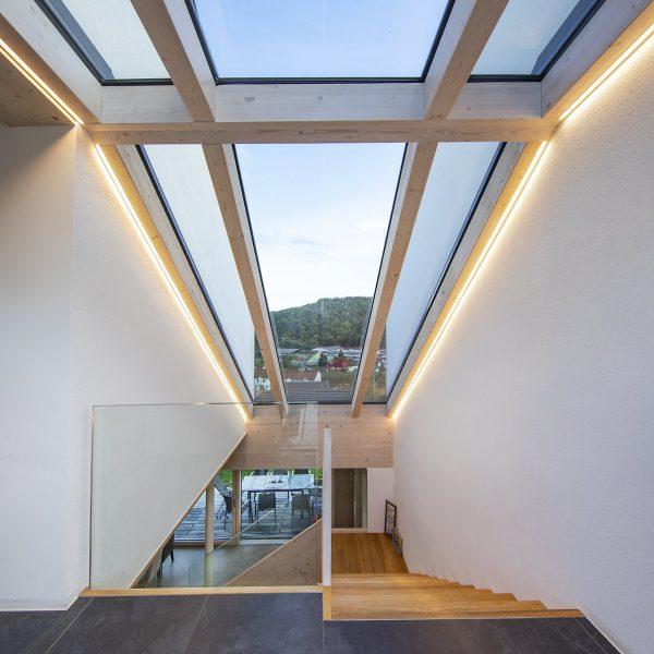 ©Romana Fürnkranz / Innenansicht mit Glasdach