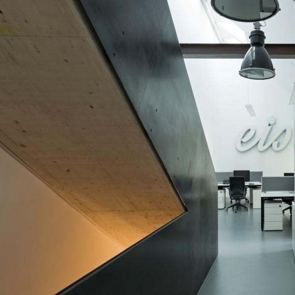 Stiegenaufgang innen / ©junger & beer Architektur zt-gmbh