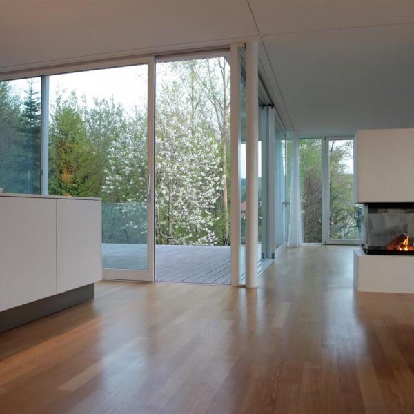 Wohn-/ Küchenbereich / ©Andreas Buchberger