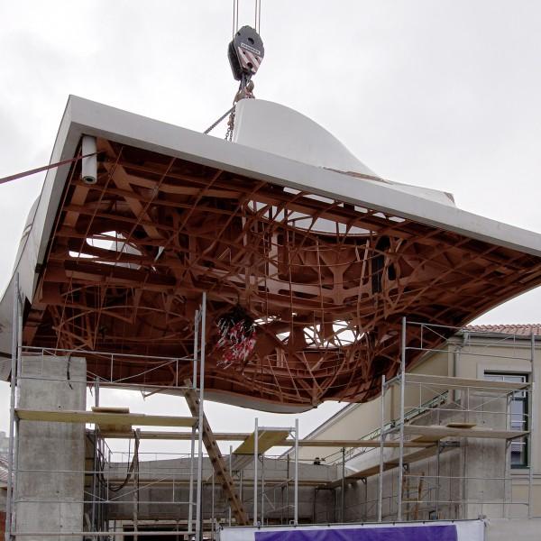 Montage Dach / ©Markus Pillhofer