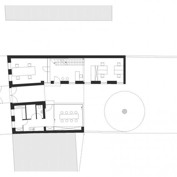 Grundriss EG / ©junger & beer Architektur zt-gmbh